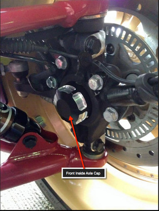 IPS Inside Front Axle Cap