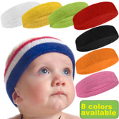 Baby Infant Toddler Sports Headband (8Colors Avl)