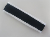 Navy with white trim headbands sports pro