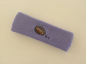 Lavender custom terry head band sports sweat