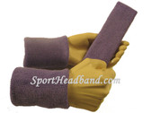 Lavender sports sweat headband 4inch wristbands set