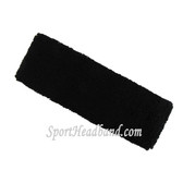 Black Baby Toddler Kids Sport Terry Headband