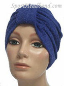 Purple Terry Turban Made in USA