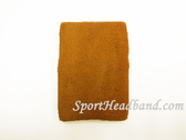 Tan Sport Wristband 4INCH for Sweat