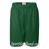 Green Mesh Sports Shorts