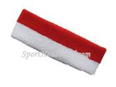 Red White 2color sport sweat headband