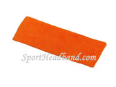 Light Orange Baby Toddler Kids Sport Terry Headband