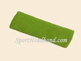 Lime Green Baby Toddler Kids Sport Terry Headband