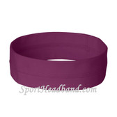 Purple Nylon 2 inch wide Ladies' Headband(1 Piece)