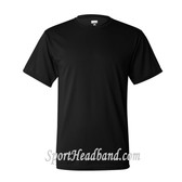 Augusta Sportswear Black 100% Poly Moisture Wicking T-Shirt