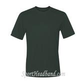 Men's Short Sleeve Cool Dri UPF Performance T-Shirt - Dark Green