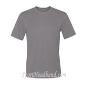 Men's Short Sleeve Cool Dri UPF Performance T-Shirt - Charcoal