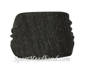 Eco Black Polyester Wider Headband Head Wrap(1 Piece)