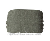 Eco Grey Polyester Wider Headband Head Wrap(1 Piece)
