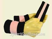 Black Light Pink Black sports sweat headband wristbands Set