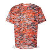 B-Core Mens T-Shirt Uniform Jersey Dri Fit Dark Digital Camo