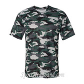 Sport Adult Unisex Short Sleeve Camo Tee Shirt - Forest