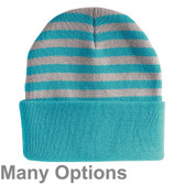 "Sportsman - 12"" Striped Knit Beanie"