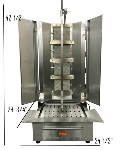 commercial shawarma machine