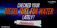 Water in Diesel Fuel Paste