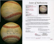 Billy Martin Autograph Baseball JSA New York Yankees