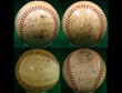 1941 New York Giants Team Signed Autographed Baseball w/Mel Ott, Bill Terry, Gabby Harnett and Carl Hubbell