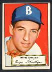1952 Topps Baseball # 007 Wayne Terwilliger Brooklyn Dodgers VG-2