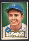 1952 Topps Baseball # 034 Elmer Valo Philadelphia Athletics EX