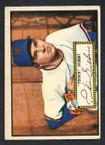 1952 Topps Baseball # 061 Tookie Gilbert New York Giants VG
