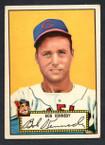 1952 Topps Baseball # 077 Bob Kennedy Cleveland Indians EX