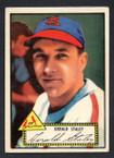 1952 Topps Baseball # 079 Gerald Staley St. Louis Cardinals EX