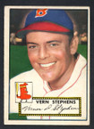 1952 Topps Baseball # 084 Vern Stephens Boston Braves VG-2