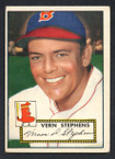 1952 Topps Baseball # 084 Vern Stephens Boston Braves VG-3