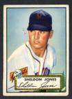 1952 Topps Baseball # 130 Sheldon Jones New York Giants VG