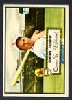 1952 Topps Baseball # 160 Owen Friend St. Louis Browns EX-3