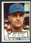 1952 Topps Baseball # 204 Ron Northey Chicago Cubs VG-2