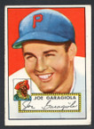 1952 Topps Baseball # 227 Joe Garagiola Pittsburgh Pirates VG
