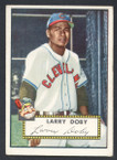 1952 Topps Baseball # 243 Larry Doby Cleveland Indians VG
