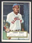 1952 Topps Baseball # 243 Larry Doby Cleveland Indians VG