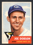 1953 Topps Baseball # 005  Joe Dobson Chicago White Sox EX-1