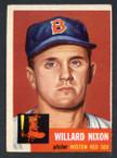1953 Topps Baseball # 030  Willard Nixon Boston Red Sox EX