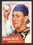 1953 Topps Baseball # 053  Sherman Lollar Chicago White Sox EX