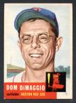 1953 Topps Baseball # 149  Dom DiMaggio Boston Red Sox EX/MT