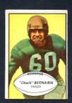 1953 Bowman Football # 024  Chuck Bednarik Philadelphia Eagles G
