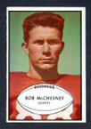 1953 Bowman Football # 067  Bob McChesney New York Giants VG