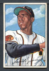 1952 Bowman Baseball # 084  Sam Jethroe Boston Braves EX