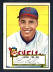1952 Topps Baseball # 088 Bob Feller Cleveland Indians G