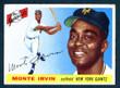 1955 Topps Baseball # 100  Monte Irvin New York Giants VG