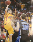Greivis Vasquez Autographed 16 X 20 Photo vs Duke