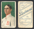 1909 T206     Mattern, Al   Portrait   Boston Braves  Fair 309